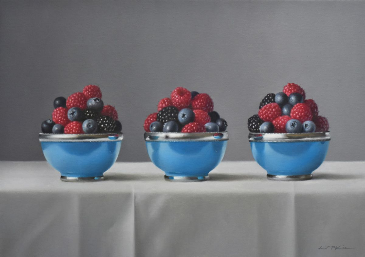 Moroccan Bowl with Berries