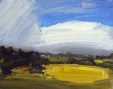 Sunlit Field by Robert Newton