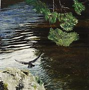 Hawk, River Tweed II by Rose Strang SSA