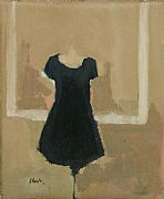 A Charming Little Black Dress by Michael G Clark PAI RSW
