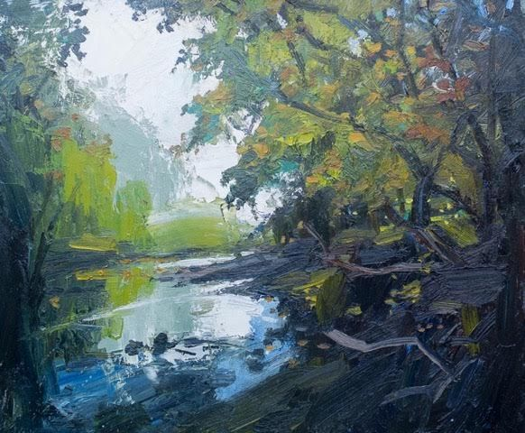A Small Stream by Robert Newton