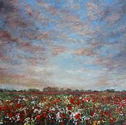 Amongst Poppies by Molly Garnier