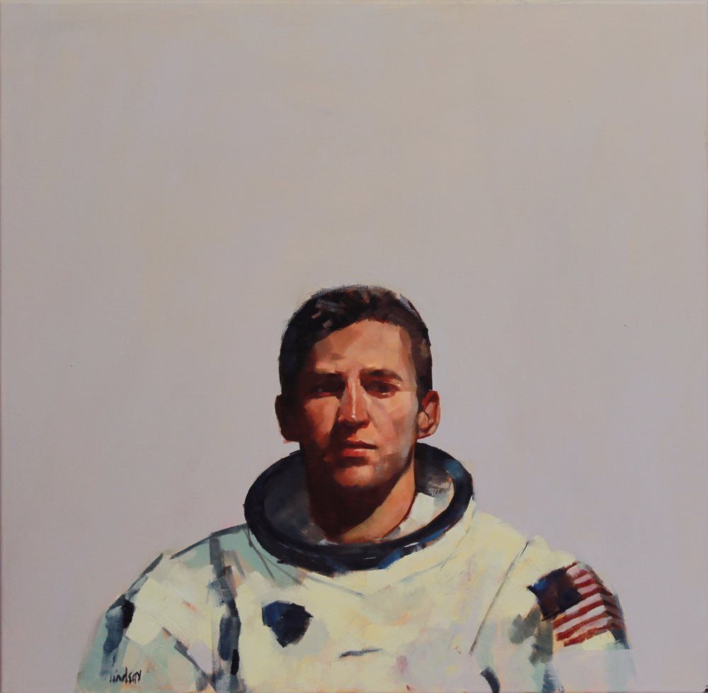 Astronaut No 6  by Steven Lindsay