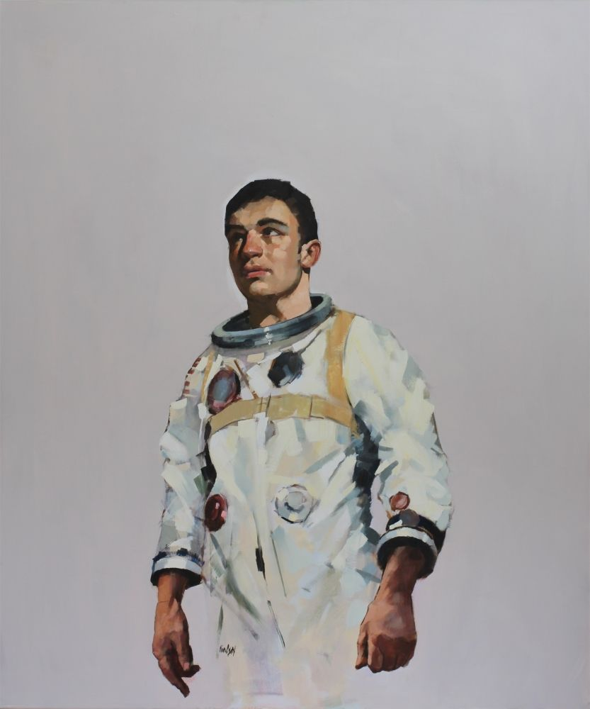 Astronaut No 7  by Steven Lindsay