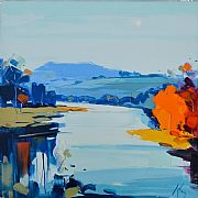 Autumn on the Tay by Peter King