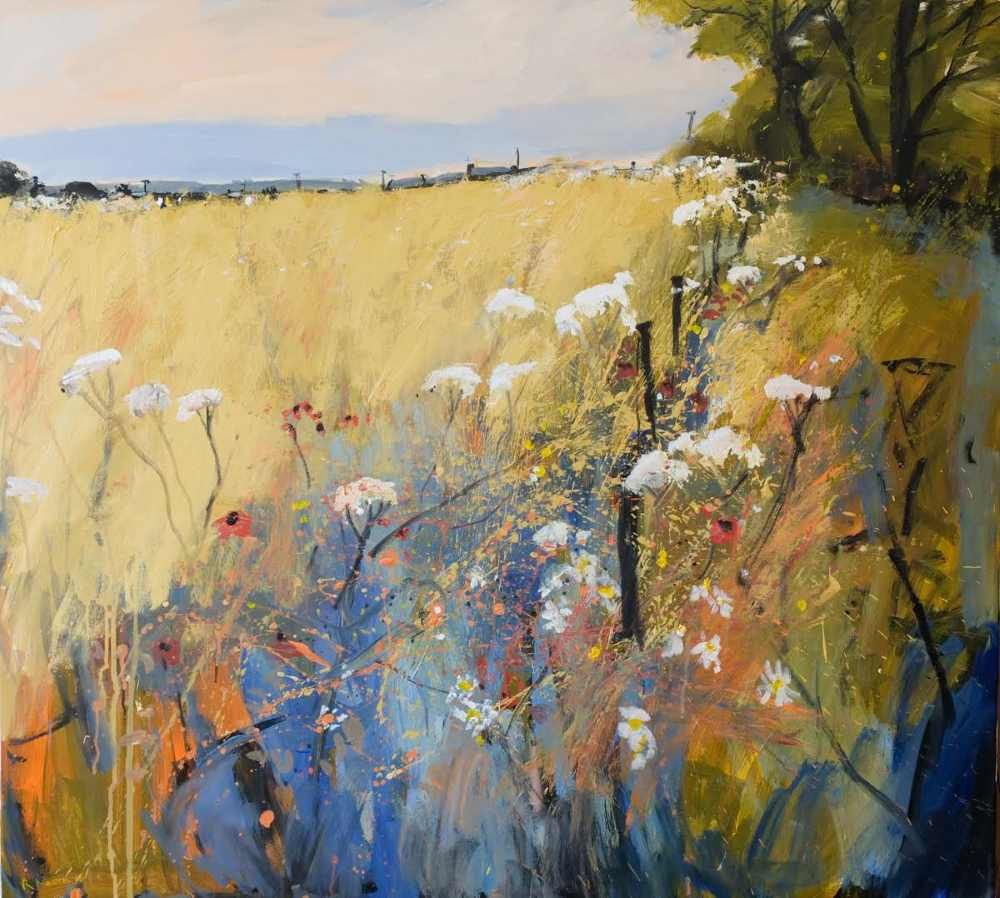 Barley Fields by Robert Newton