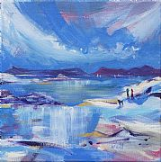 Beachcombers, Arisaig by Jacqueline Watt
