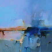 Blue Drift II by Peter Wileman FROI RSMA FRSA