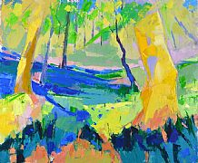 Bluebell Glade by Marion Thomson