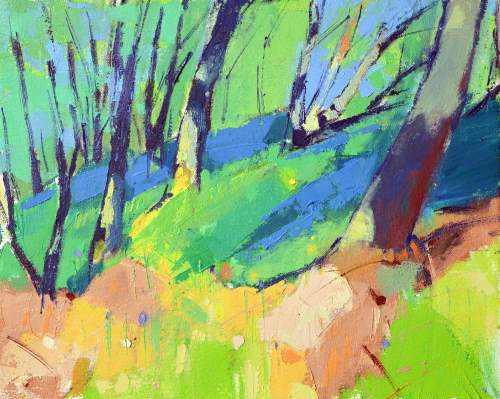 Bluebell Wood by Marion Thomson