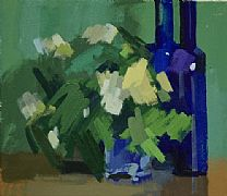 Bottles & Roses by Philip Richardson