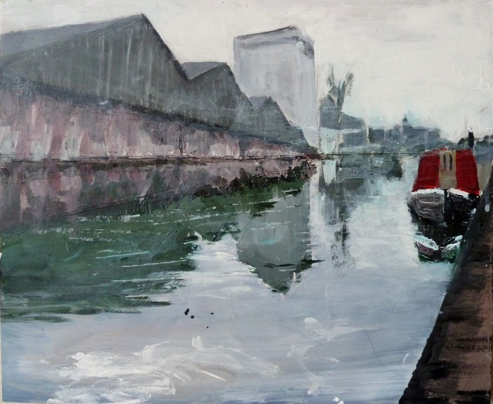 Canalscapes 5  by Rose Strang