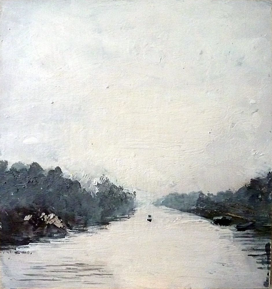 Canalscapes 6  by Rose Strang