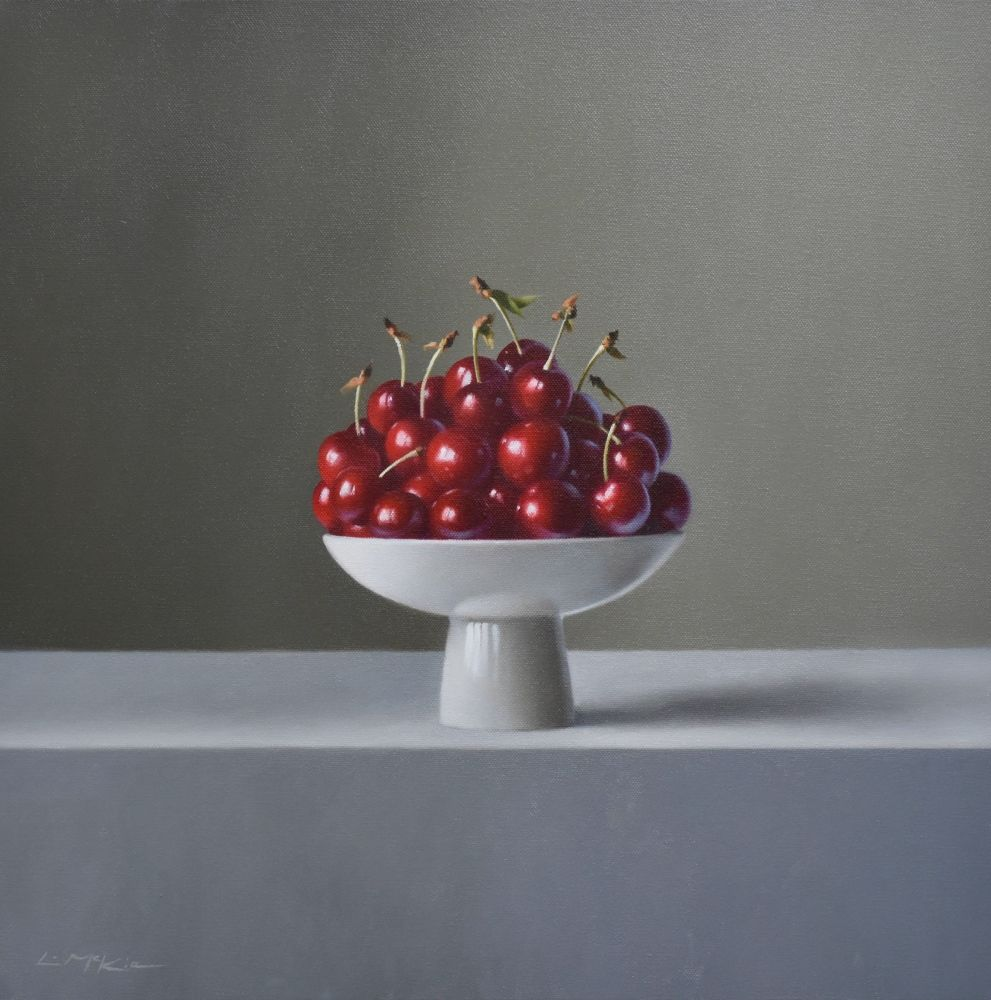 Cherries from the Orchard  by Lucy  McKie ROI