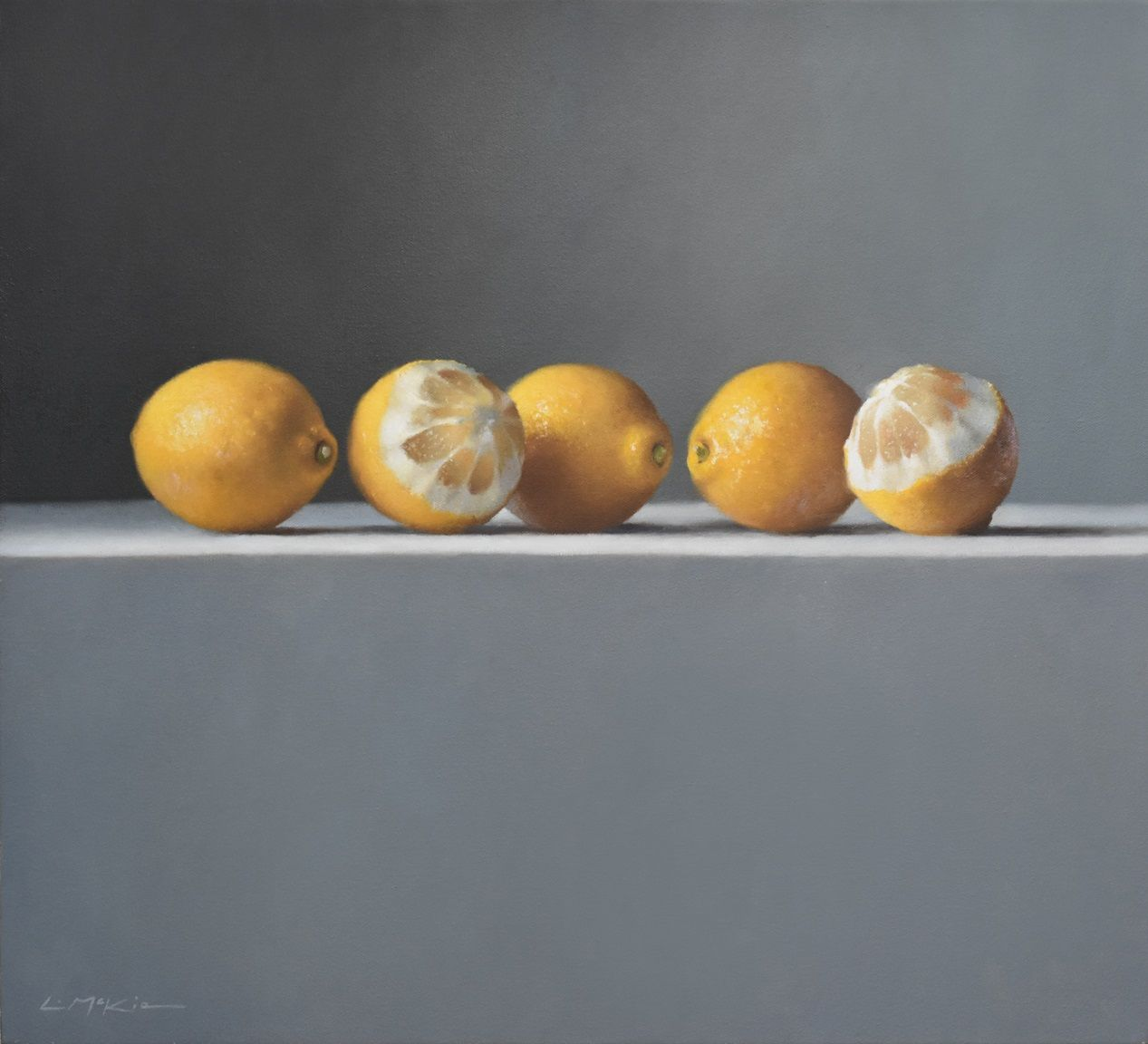 Composition with Lemons  by Lucy  McKie ROI