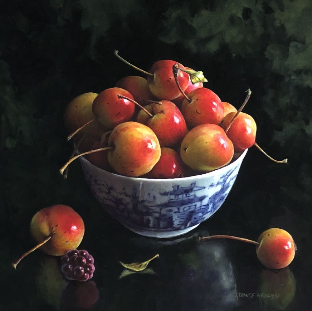 Crabapples  by Denise Heywood