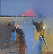 Estuary Sunset by Peter Wileman FROI RSMA FRSA