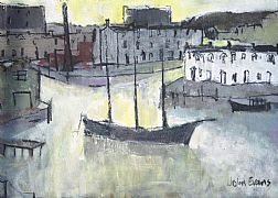 Evening Light, Baltic Wharf by John Evans