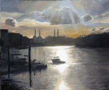 From Vauxhall Bridge by David Porteous-Butler