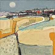Full Moon Rising by Malcolm  Taylor PS VPMAFA RBA