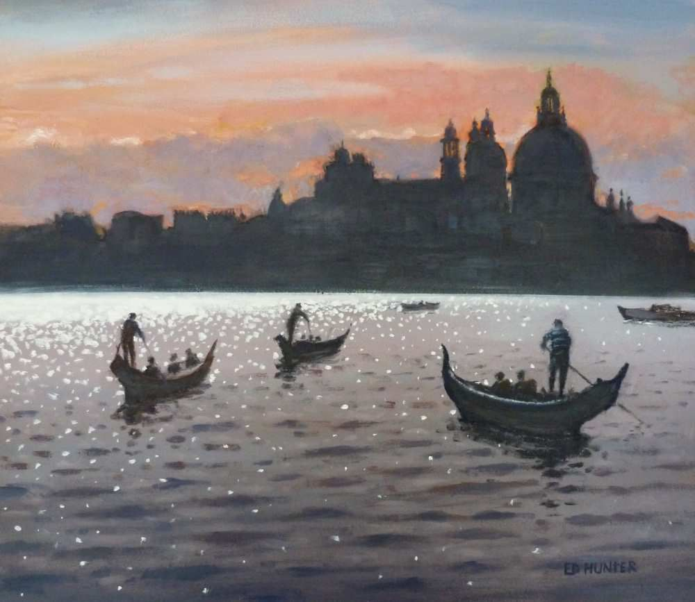 Gondoliers  by Ed Hunter