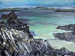 Green Sea, North Beach (Isle of Iona) by Rose Strang SSA