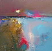 Harvest Moon by Peter Wileman FROI RSMA FRSA