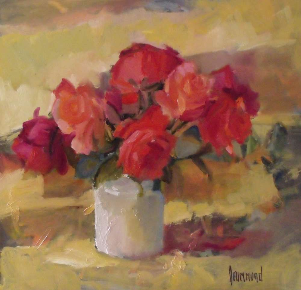 Hybrid Teas by Marion  Drummond