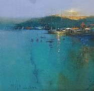 Leaving Oban by Peter Wileman FROI RSMA FRSA