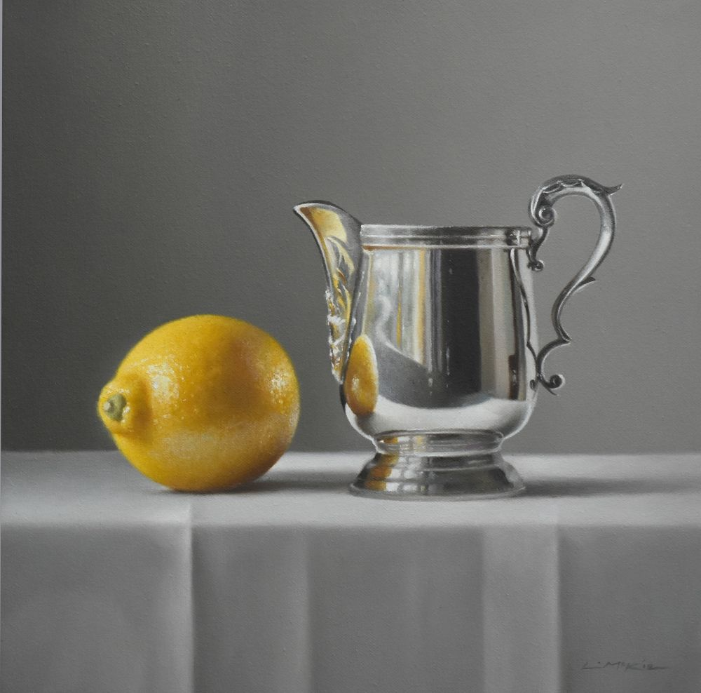 Lemon with Silver Jug