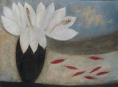 Lilies and Chillies by Vivienne Williams RCA