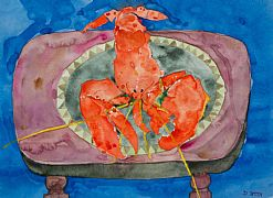 Lobster Platter by David Smith RSW