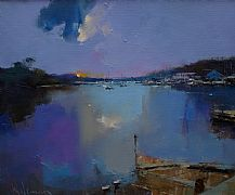 Morning Light, Penryn, Cornwall by Peter Wileman FROI RSMA FRSA