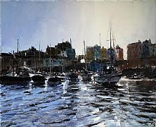 Morning in Tenby by David Porteous-Butler