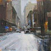New York Snow by Peter Wileman FROI RSMA FRSA