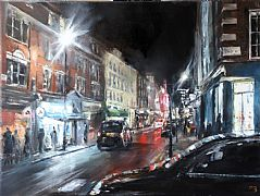 Old Compton Street, W1 by David Porteous-Butler
