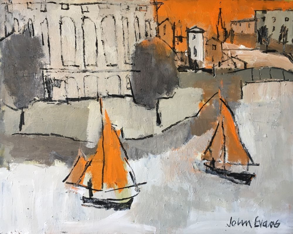 Orange Sails by Arnolfini