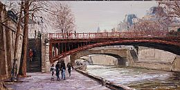Paris, Left Bank 2 by David Porteous-Butler