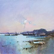 Pin Mill by Peter Wileman FROI RSMA FRSA