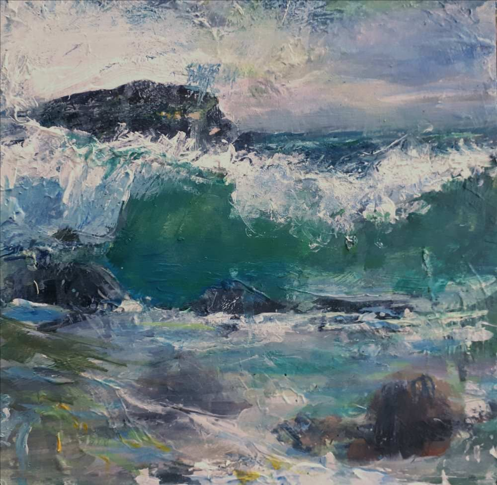 Pisces Moon, Isle of Iona  by Rose Strang SSA