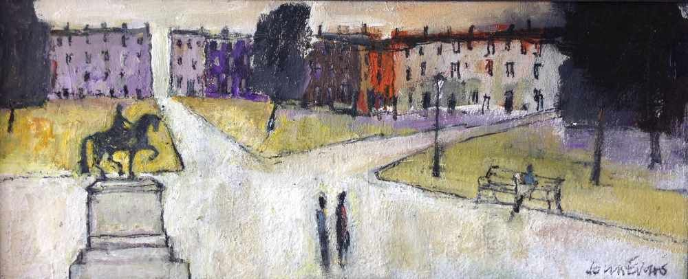 Queens Square  by John Evans