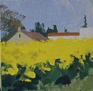 Rapeseed at Soignolles, no.2 by Philip Richardson