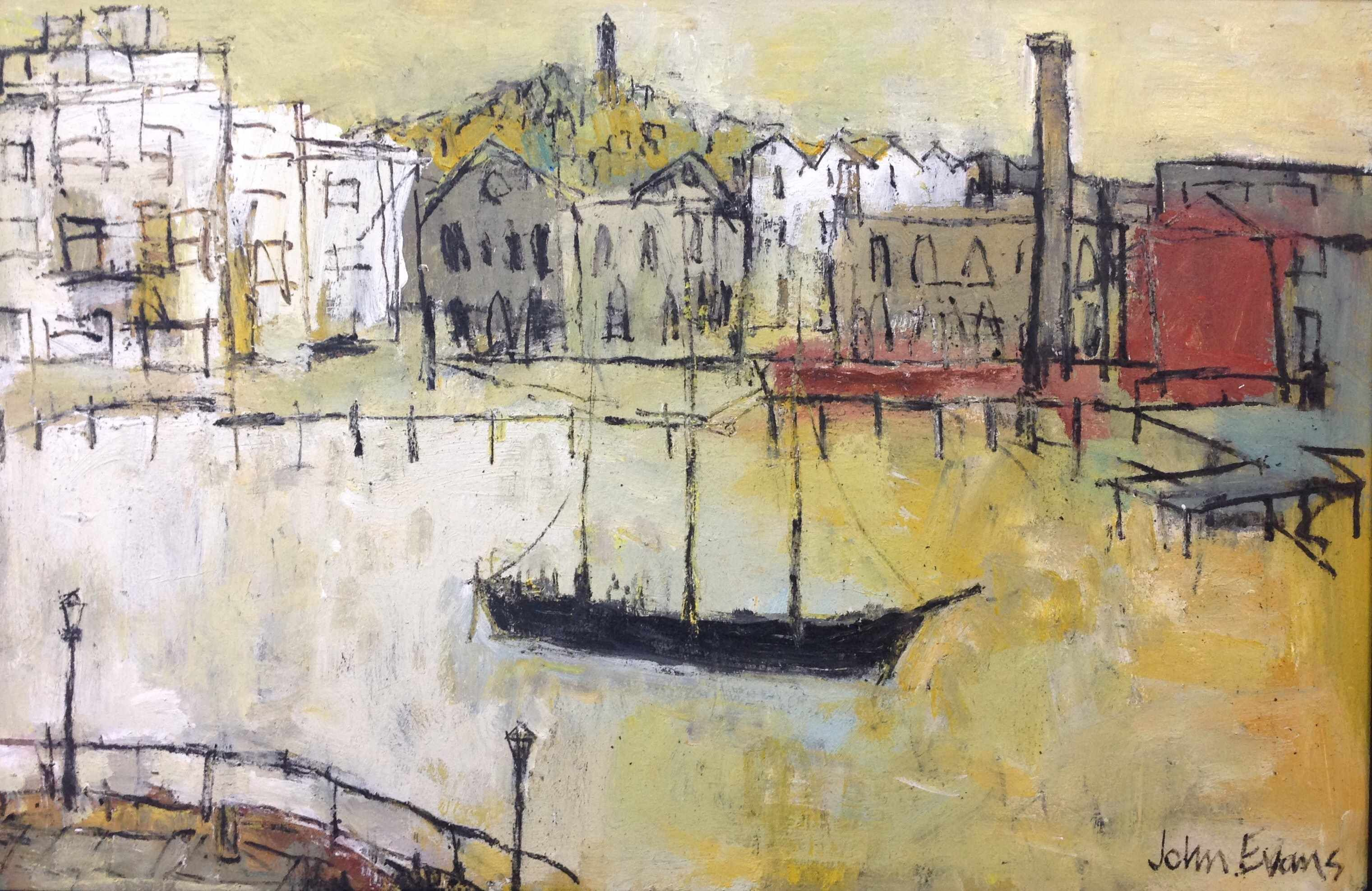 Reconstruction, Floating Harbour by John Evans