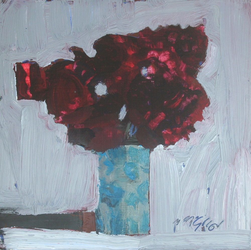 Red Roses  by Mhairi McGregor RSW