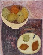 Ripe Pears with Lemons by Vivienne Williams RCA