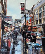 Shaftesbury Avenue by David Porteous-Butler