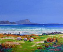 Sheep Grazing, Easdale by Ed Hunter