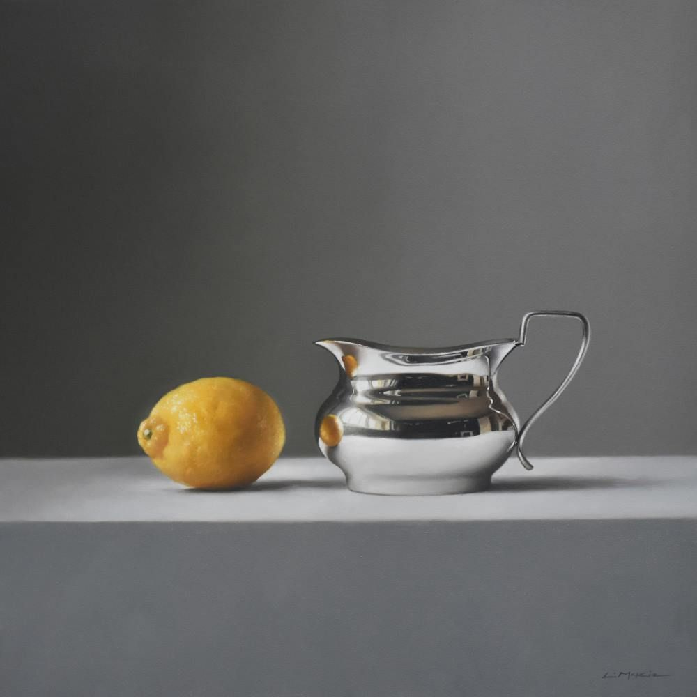 Silver Jug with Sicilian Lemon  by Lucy  McKie ROI