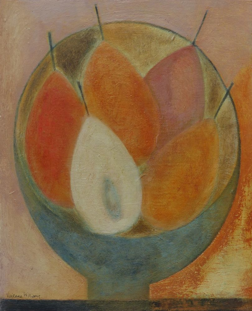 Small Pear Bowl by Vivienne Williams RCA