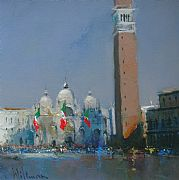 St. Mark's Square, Venice by Peter Wileman FROI RSMA FRSA